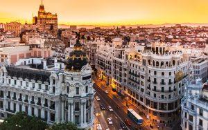 Solopham có mặt tại thành phố Madrid